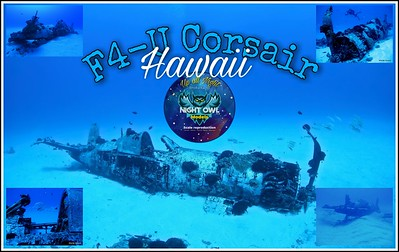 F4-U Corsair  Sunken Hawaii