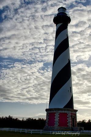 Lighthouse <br /> Cape Hatteras, North Carolina