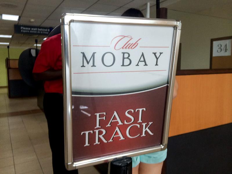 Club Mobay Fast Track...SOOO worth it!