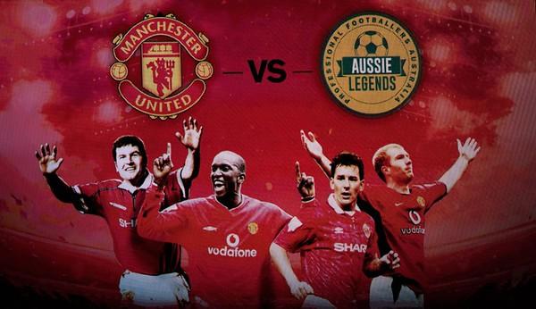Manchester United v PFA Aussie Legends