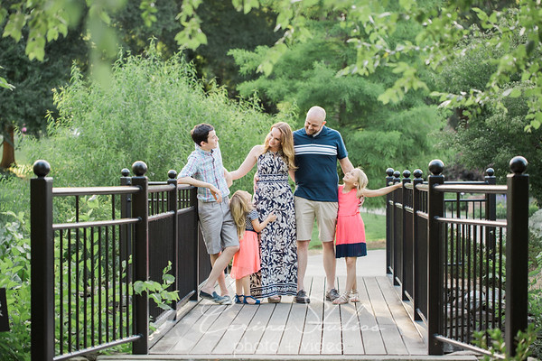 Chris and Alaina's Spring Family Photo Session