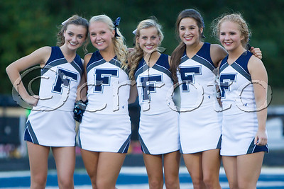 FHS V FB vs. Karns (9-16-16) Cheerleaders