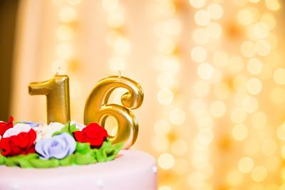 Anika's Sweet 16 Birthday