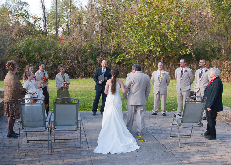 Wedding Procession, Stone Arch Bridge Lewistown, PA img_6065B.jpg