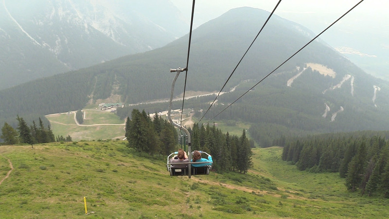 Mt Norquay Chairlift.mp4