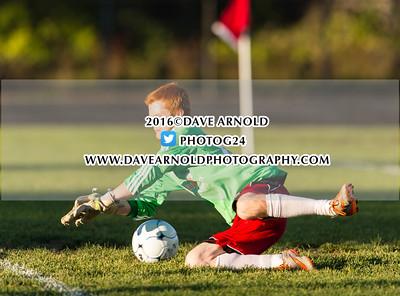 10/6/2016 - Boys JV Soccer - Yarmouth vs Wells