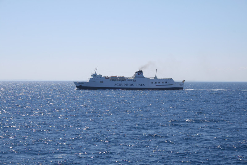 2010 - F/B IONIAN SKY sailing in Ionian sea.