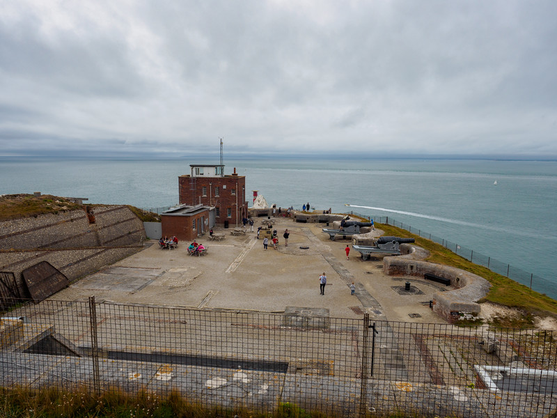 The Needles Old Battery and New Battery