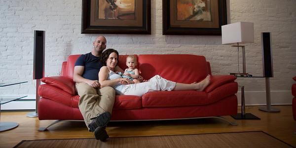 Portrait album: Johnson family