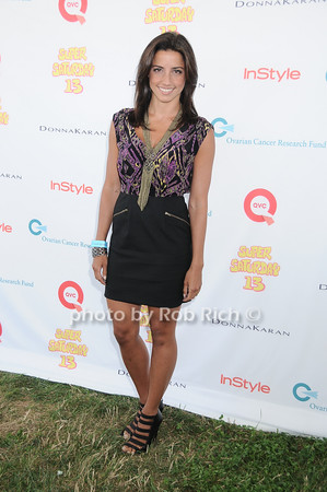 Shoshona Lonstein Gruss attends Super Saturday 13 to benefit the Ovarian Cancer Research Fund @ Nova's Ark Project in Water Mill. on July 31,2010. photo by Rob Rich/SocietyAllure.com
