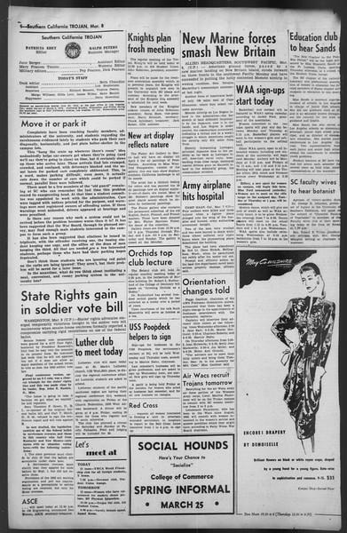 The Trojan, Vol. 35, No. 90, March 08, 1944