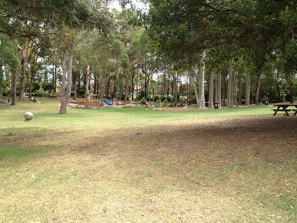 panorama of playground
