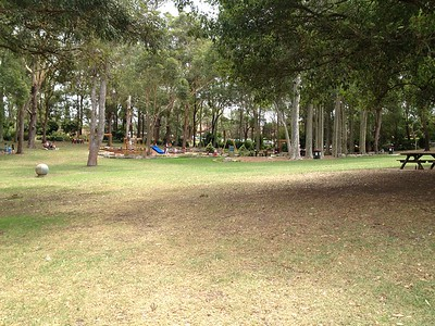 panorama of playground