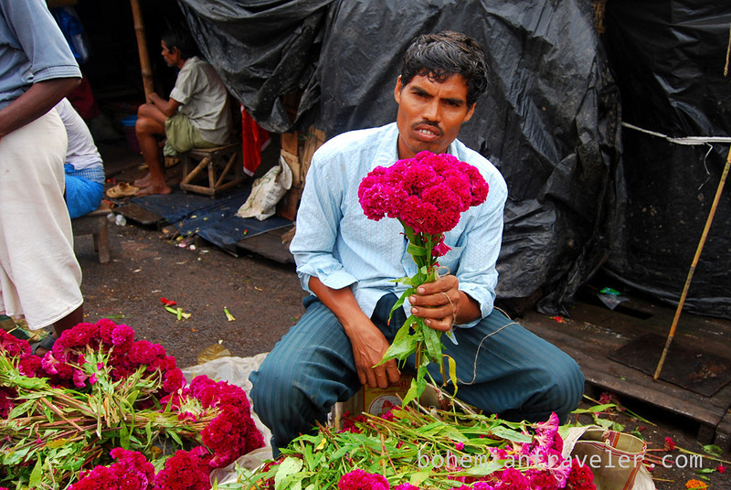 Flower Market in Calcutta India (4).jpg