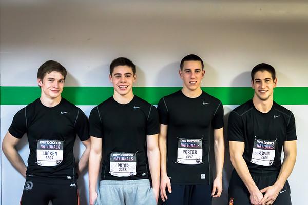 2013 New Balance Indoor Nationals - Newton North