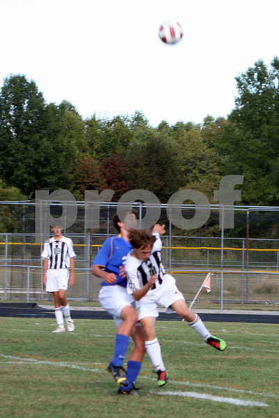 JV boys soccer vs Madeira 9/9/10