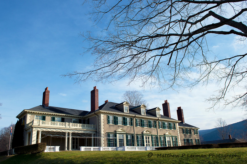 Hildene: The Lincoln Family Home in Manchester, VT   #815