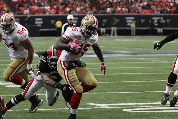 Falcons vs 49ers 2010