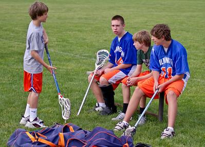 Wilmington Lacrosse - Orange Squad (A1) vs Moorestown 5-22-10