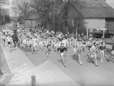 Aylesbury Grammar School cross country run, Apr 12th 1960