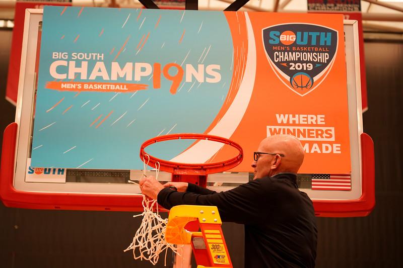 Big South Championship - Celebration