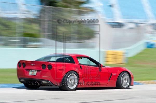 Red Corvette Z06