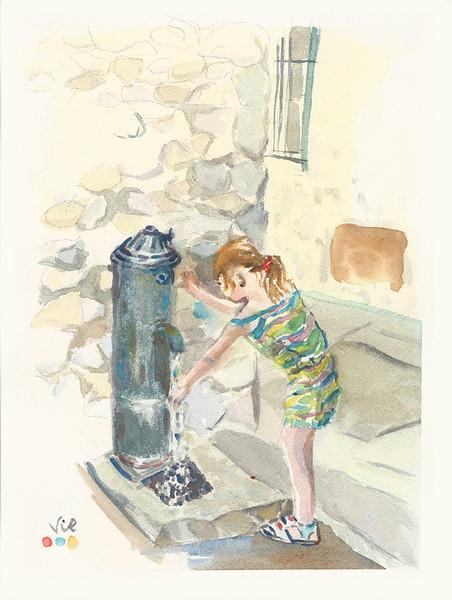 No.234 Jeune fille à la fontaine.jpg
