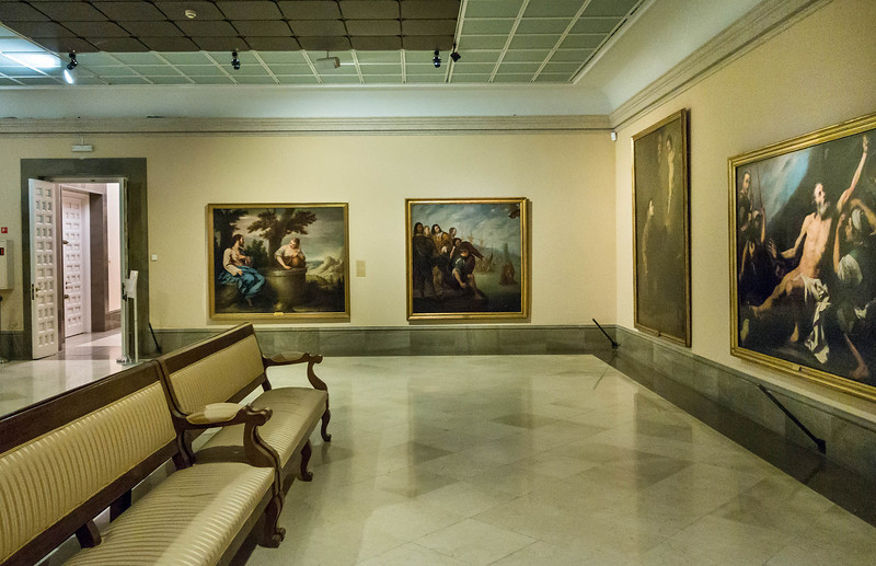 Alonso Cano und Jose de Ribera [Academia de Bellas Artes, Madrid]