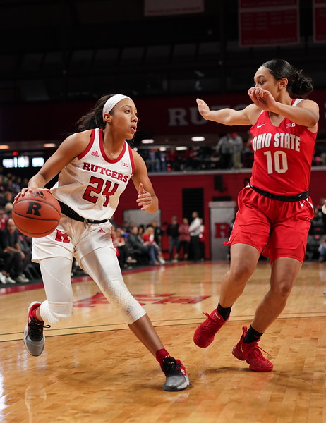 Rutgers Defeats Ohio State 59-57