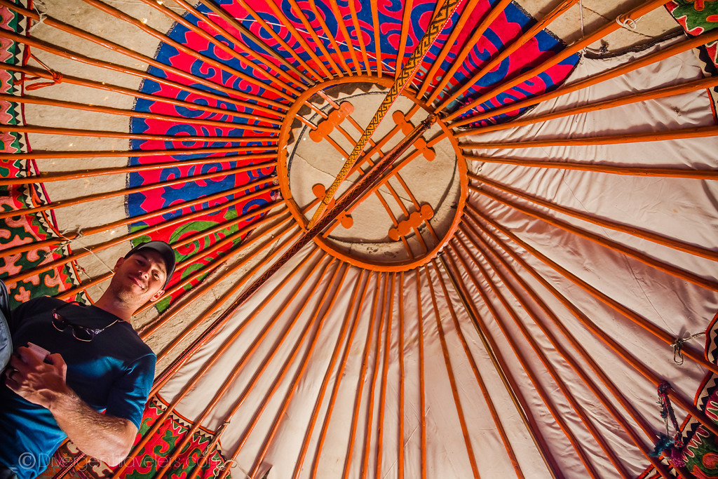 Kyrgyzstan Photos: Inside of Yurt Bokonbayevo