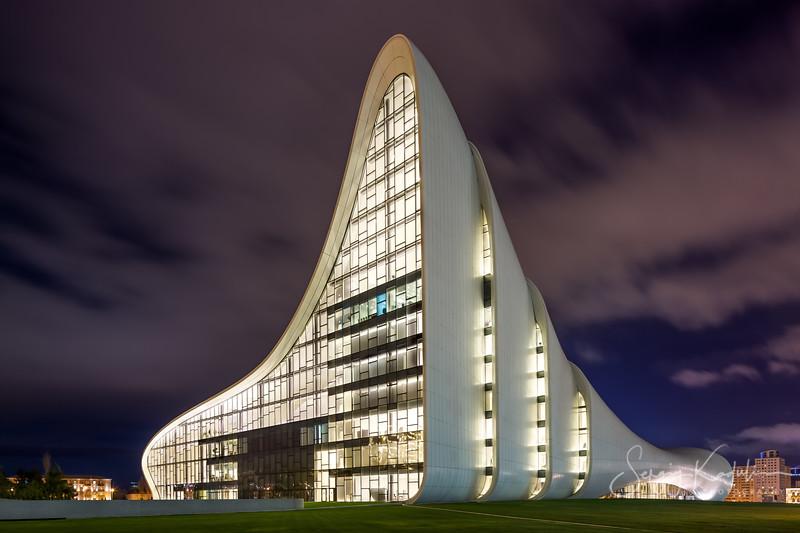 Heidar Aliyev Cultural Center in Baku