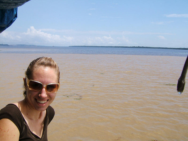 Day 2 - Manaus - The meeting of the waters.