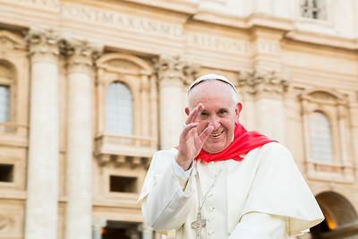 Vatican visit Pope August 4 2105