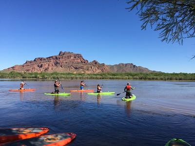 Saturday: Standup Paddleboarding