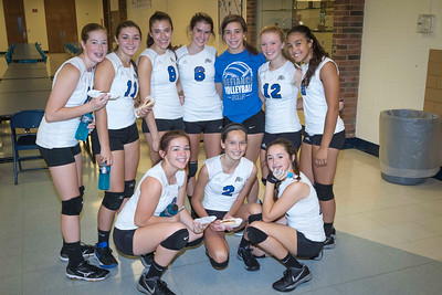 DHS Freshman Volleyball 09-17-2016