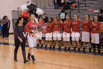 Girls Basketball: Stone Bridge vs. Heritage 2.10.16 (by Chas Sumser)