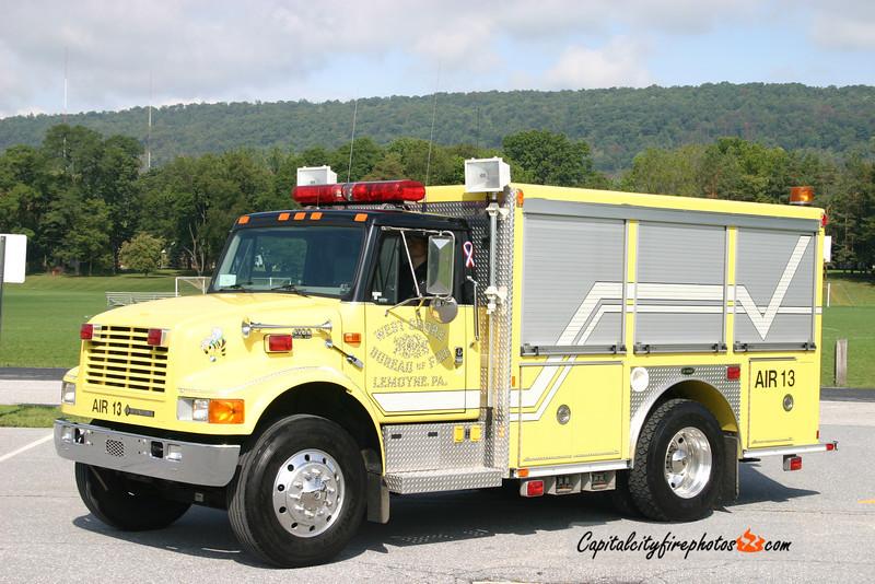 West Shore Bureau of Fire (Lemoyne) Air 13: 1999 International