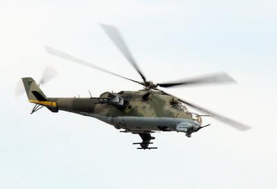 Mil Mi-24 (Миль Ми-24, NATO reporting name: Hind)