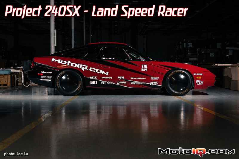 nissan, s13, 240sx land speed racer, livery