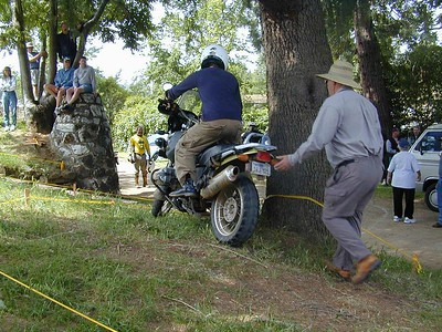2003 49 rally trials ,,section number one
