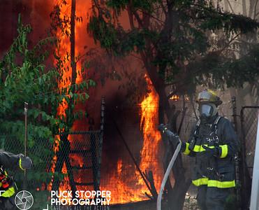 Vacant Structure Fire - 4130 Canton St, Detroit, MI - 7/4/17