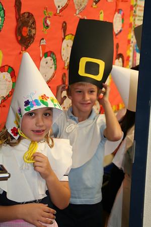 First Grade Thanksgiving Feast