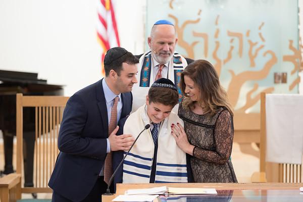 Samuel Lessans Bar Mitzvah 1-13-18