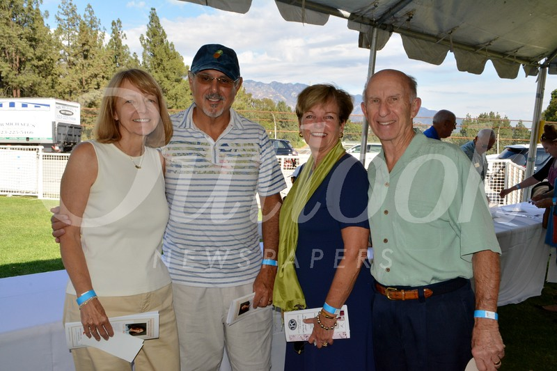 Darlene and Michael Larin with Laura and Bill Olhasso