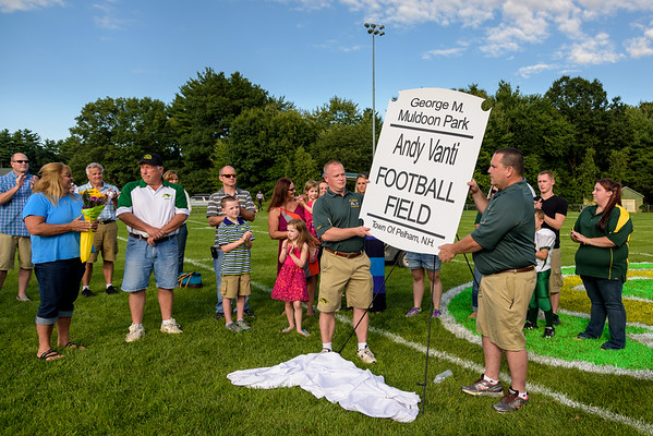 20140823 Andy Vanti Field Dedication