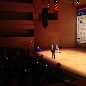 """""""No one has the right to an audience."""" @petershankman #tbex"""