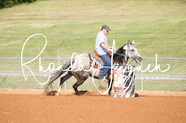 Clinton Fair 7-22-17 Masters Barrel Race