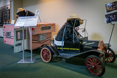 Bears in the Mini Model T and Trailer