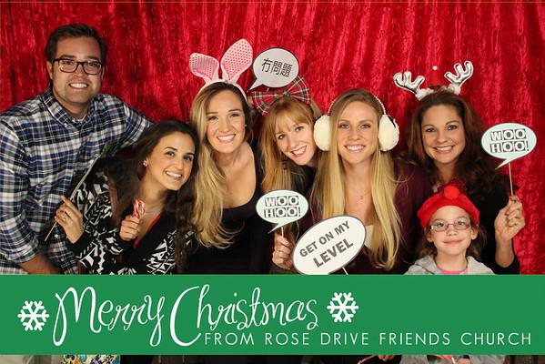 Merry Christmas-Rose Drive Friends Church