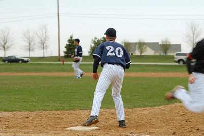 OE freshman baseball vs Minooka